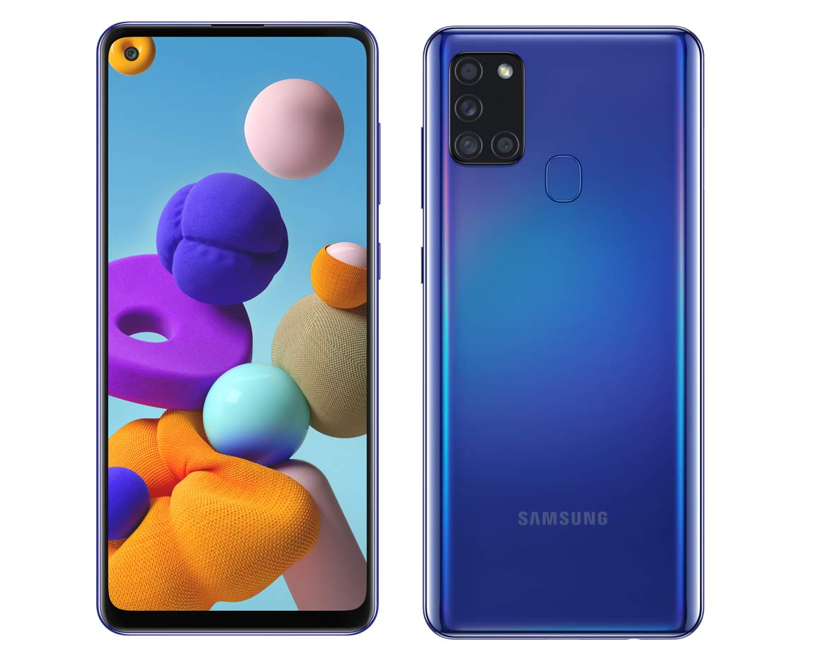 Samsung Galaxy A21s Launched In Uk With Infinity O Display 6 5 Inch Hd 48mp Camera Trendcyborg